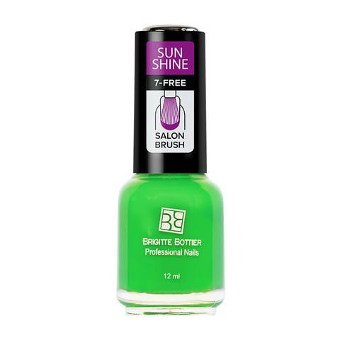 Brigitte Bottier Лак  SUNSHINE тон 10 зеленый сочный