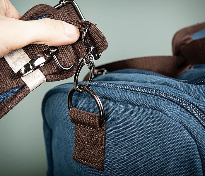 BAG502-3 Дорожная сумка для ручной клади средних размеров фото 04