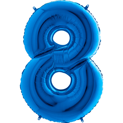 Цифра 8 (Синяя)