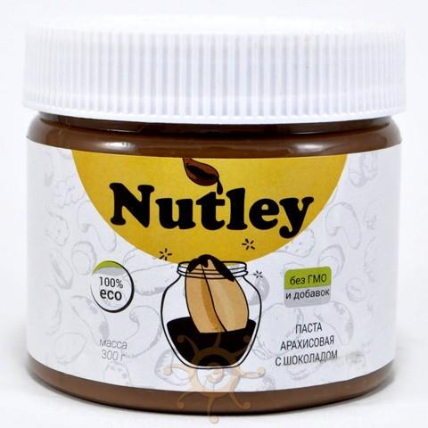 Паста арахисовая с бельгийским шоколадом Nutley 300г