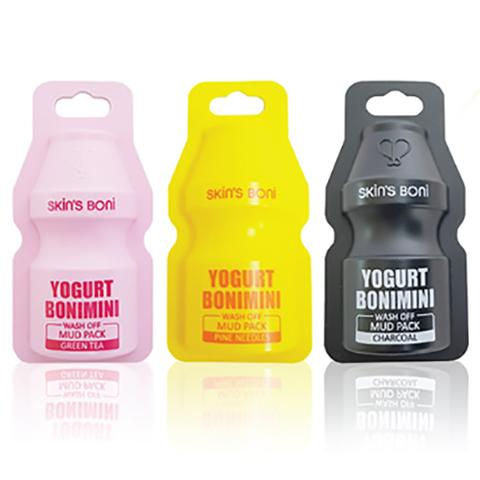 Глиняная Маска Сет Skin'S Boni Yogurt Bonimini Wash Off Mud Pack 15g * 12 шт.
