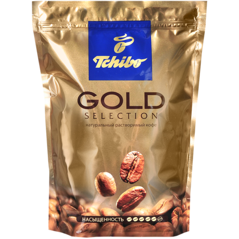 Кофе растворимый Tchibo Gold Selection, пакет 285 г