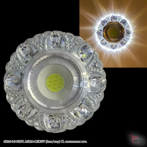 42246-9.0-001PL MR16+LED3W (2шт/кор) CL светильник точ.