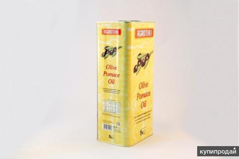 Греческое оливковое масло для жарки Pomace помас Agrotiki 5 л металл