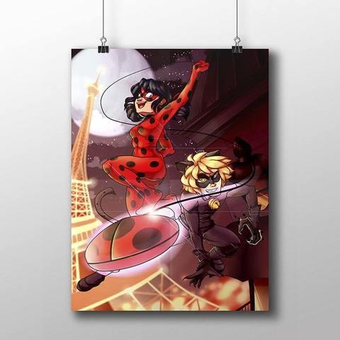 Плакат с Леди Баг и Супер Котом №2