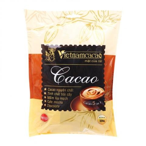 Вьетнамский быстрорастворимый какао Vinacacao, 5 в 1, 16 пак.
