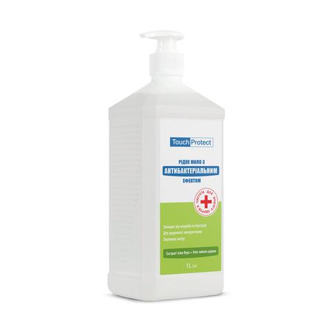 Жидкое мыло с антибактериальным эффектом Алое вера-Чайное дерево Touch Protect 1 L (1)