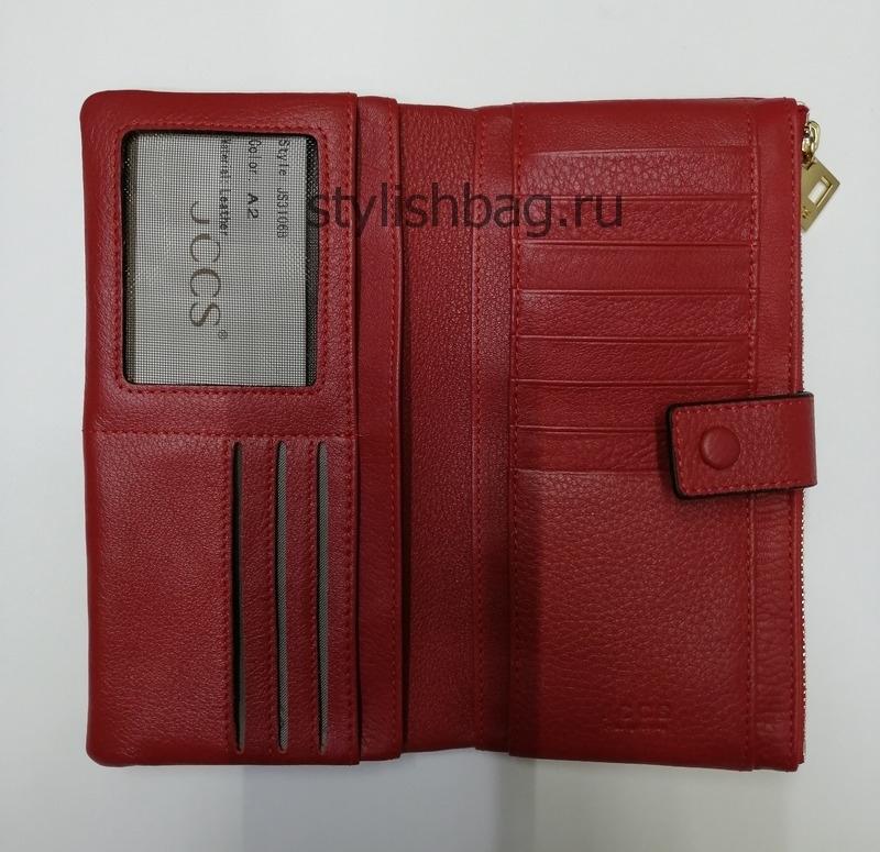 Женский кошелек JCCS j-31068 red
