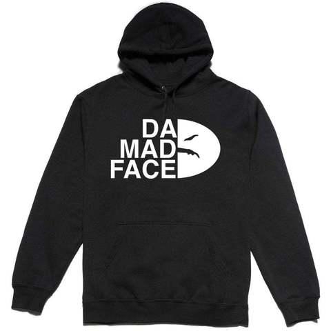 Толстовка Da Mad Face черная фото
