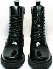 Зимние ботинки женские Ari Andano 740 All Black.
