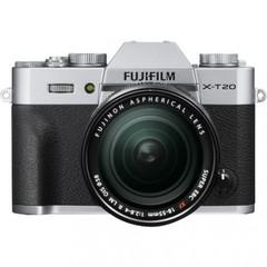 Цифровой беззеркальный фотоаппарат Fujifilm X-T20 Kit XF 18-55mm F2.8-4.0 R LM OIS silver