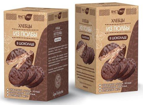 Хлебцы из полбы в шоколаде, 125 гр. (ВАСТЭКО)