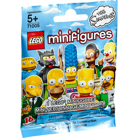 LEGO Minifigures: серия Симпсоны 71005 — The Simpsons Series — Лего Минифигурки