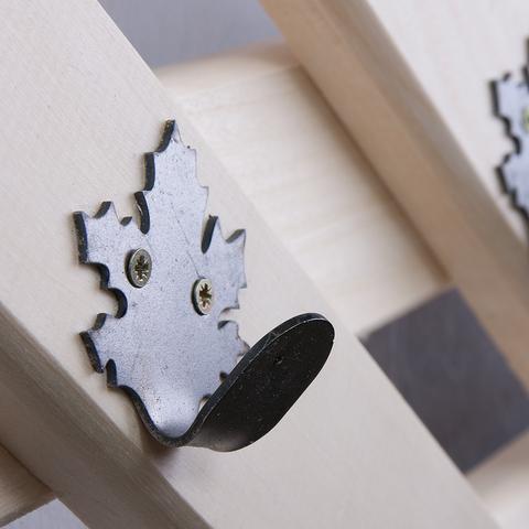 Вешалка «Ромб», 5 крючков, 68,5х28,5 см