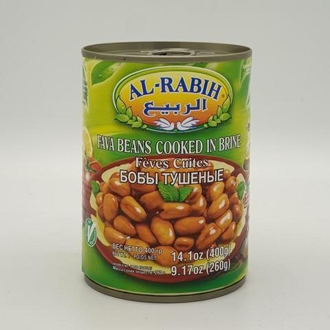 Бобы Фава тушеные Al-Rabih, 400 гр
