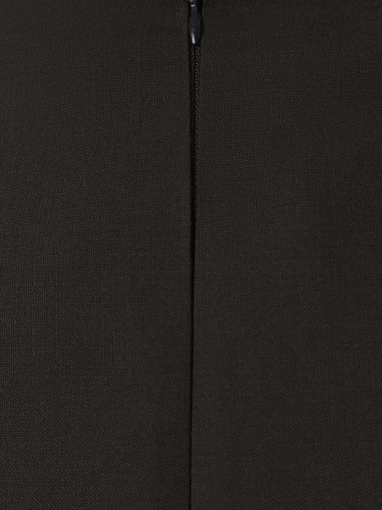 Bruna юбка на запах, Черный