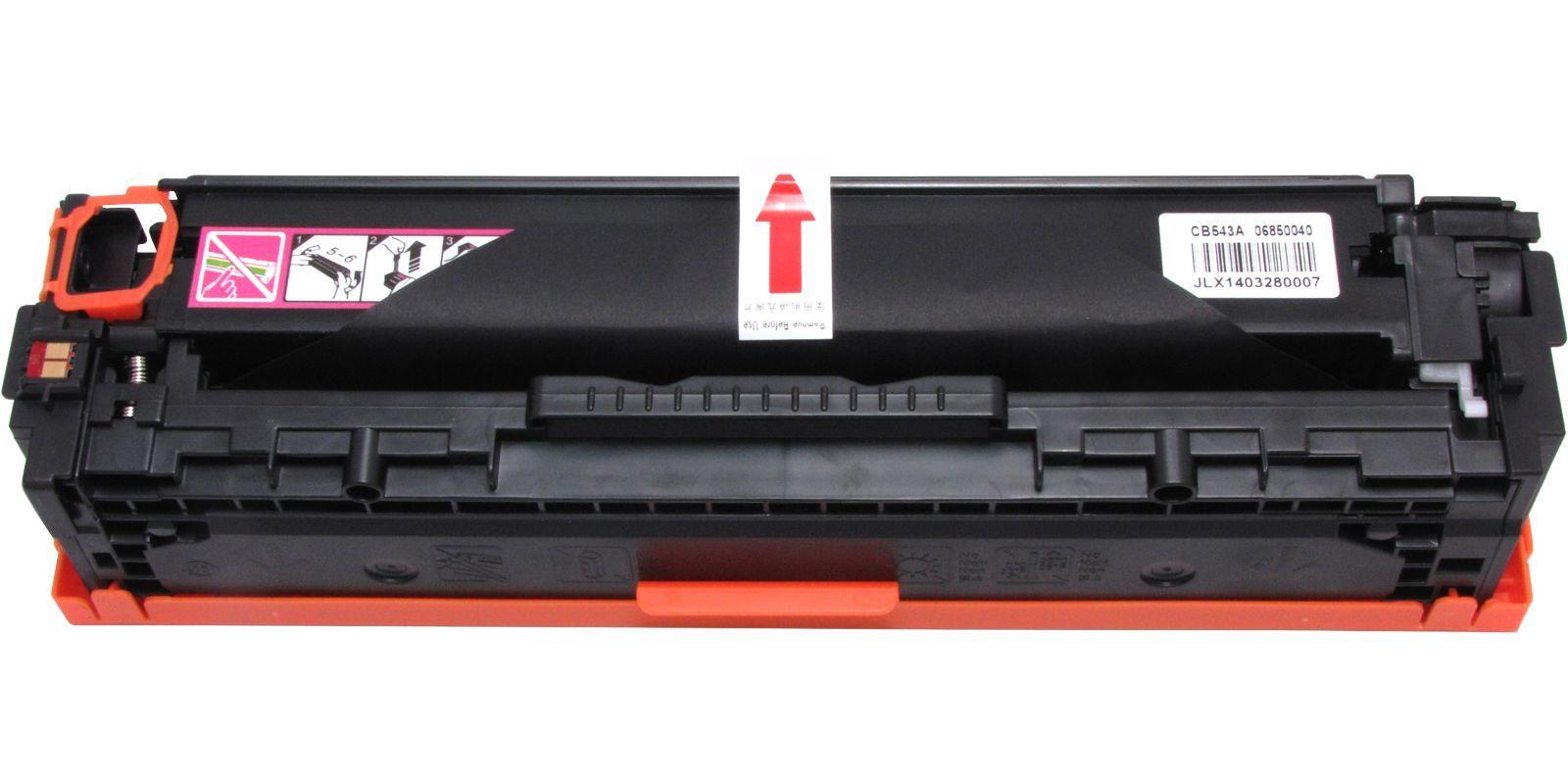 MAK №125A CB543A/Cartridge 316, 716, 416, 116 пурпурный (magenta), для HP/Canon, до 1400 стр.