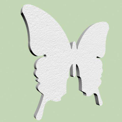 Бабочка из пенопласта.