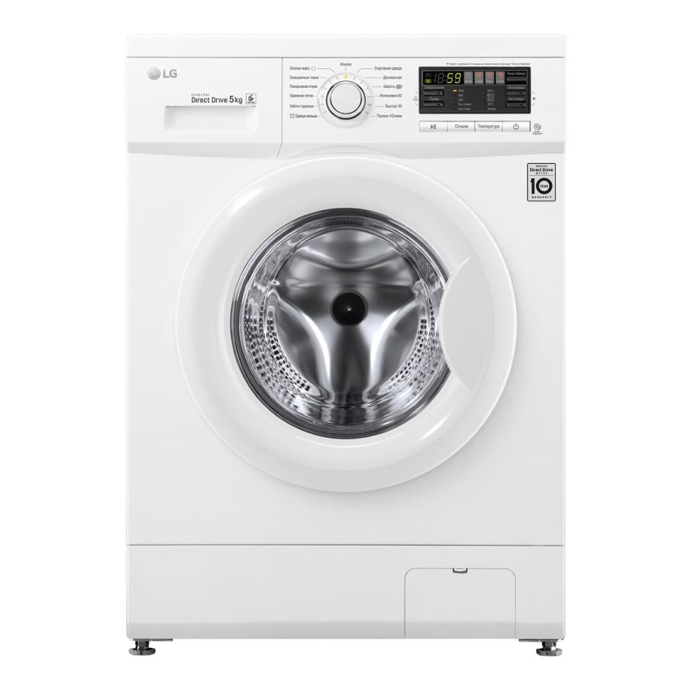 Узкая стиральная машина LG с системой прямого привода FH0B8LD6 фото