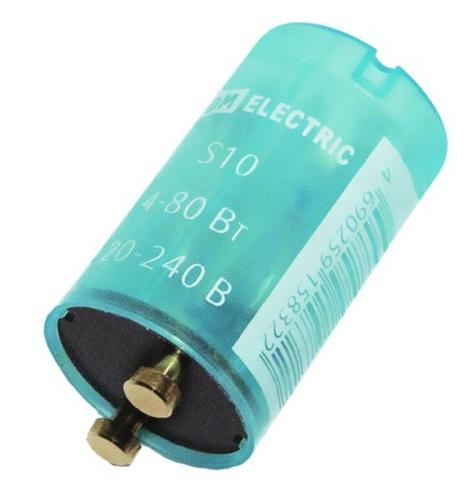 Стартер S2 4-22Вт 110-240В мед. контакты TDM