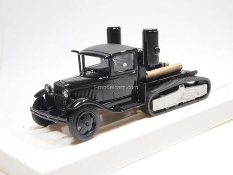 GAZ-60 NATI black LOMO-AVM 1:43