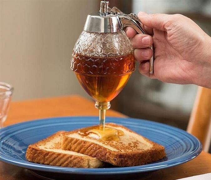 Дозатор для сиропа и меда ручной Диспенсер фото