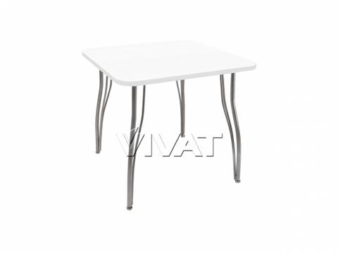 Стол обеденный квадратный LС (ОС-12) Белое дерево