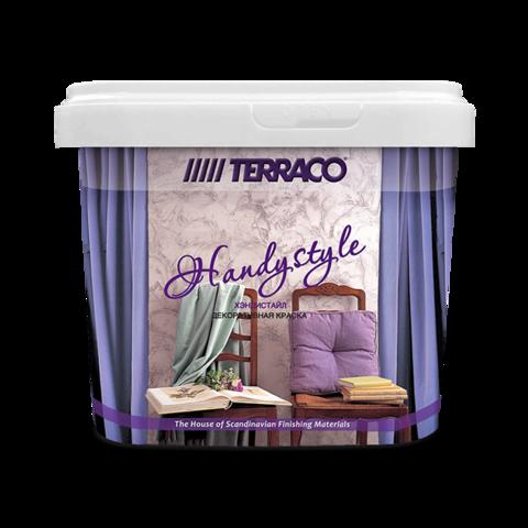 Terraco Handystyle/Террако Хэндистайл полупрозрачное тонировочное перламутровое покрытие