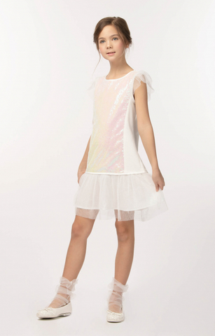 Нарядное платье для девочки (арт.29044)