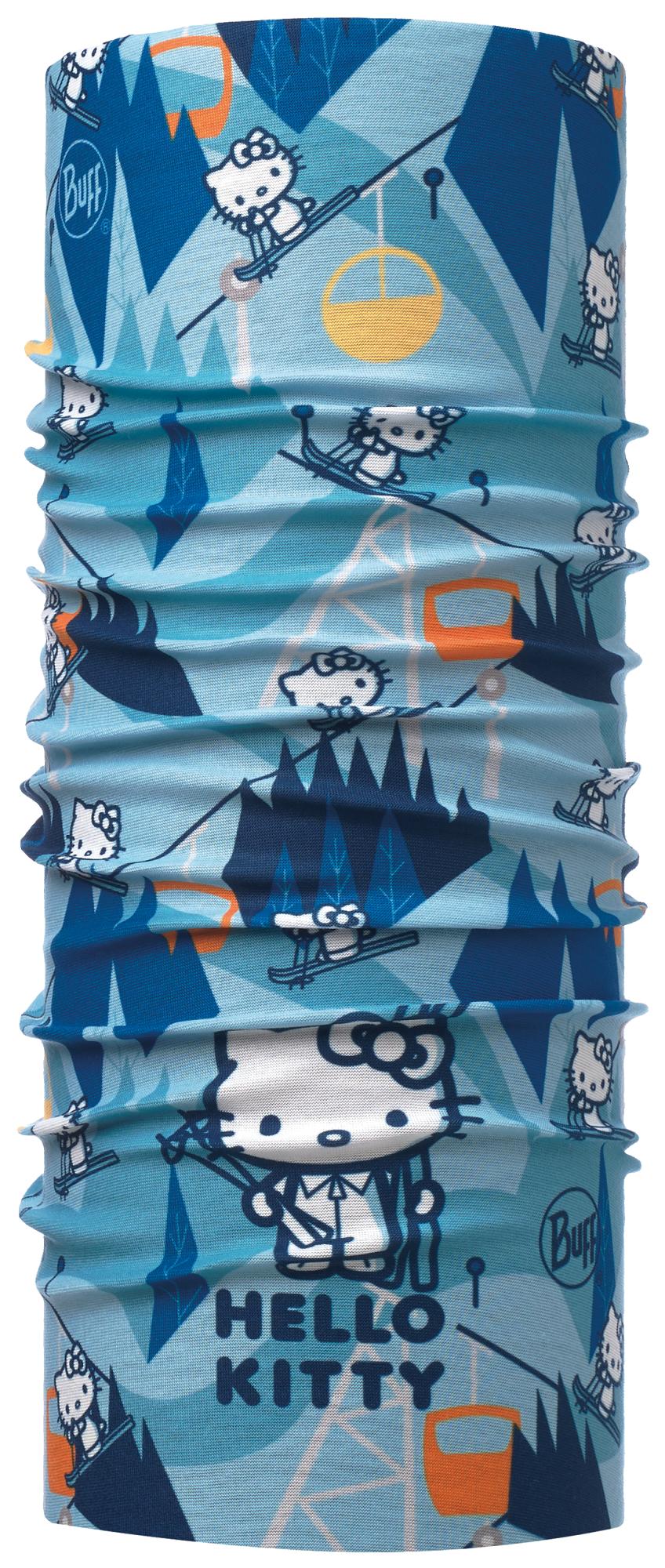 Детские банданы Многофункциональная бандана-трансформер детская Buff Ski Day Turquoise 115418.789.10.png