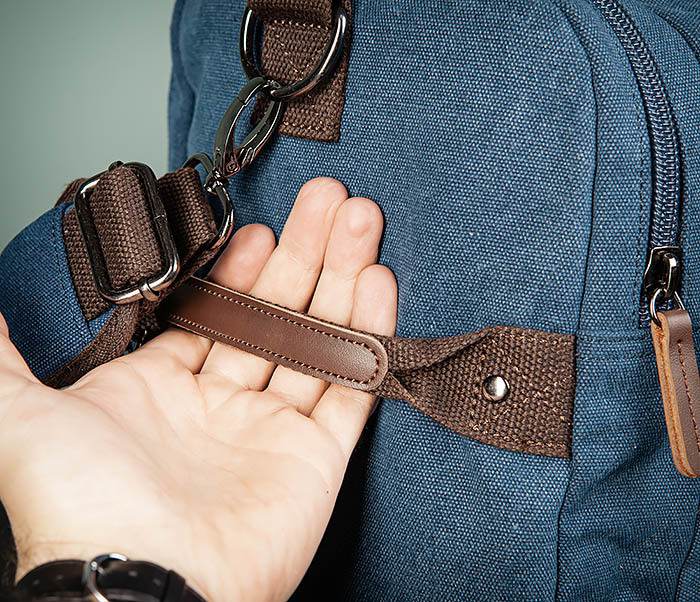 BAG502-3 Дорожная сумка для ручной клади средних размеров фото 05
