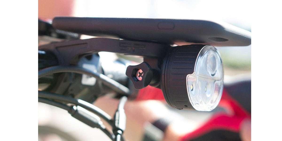 Крепление на руль велосипеда SP Connect HANDLEBAR MOUNT с фонарем