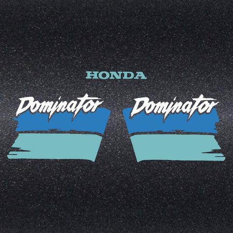 Набор виниловых наклеек на мотоцикл HONDA NX 650 DOMINATOR 1991