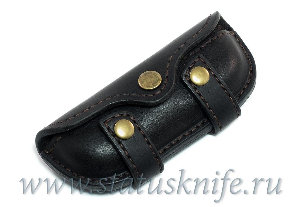 Чехол кожаный черный МБШ Флиппер 95, Хати, Ф3