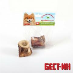 Бест-ин Кость мозговая запеченная говяжья для мелких пород собак 100-150 г
