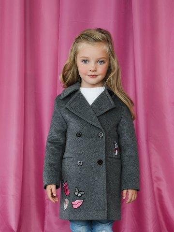 Пальто mamma Mila! (арт. А4 grey)