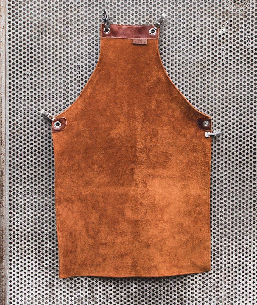 Фартук кожаный, замшевый, полноразмерный Bradleys