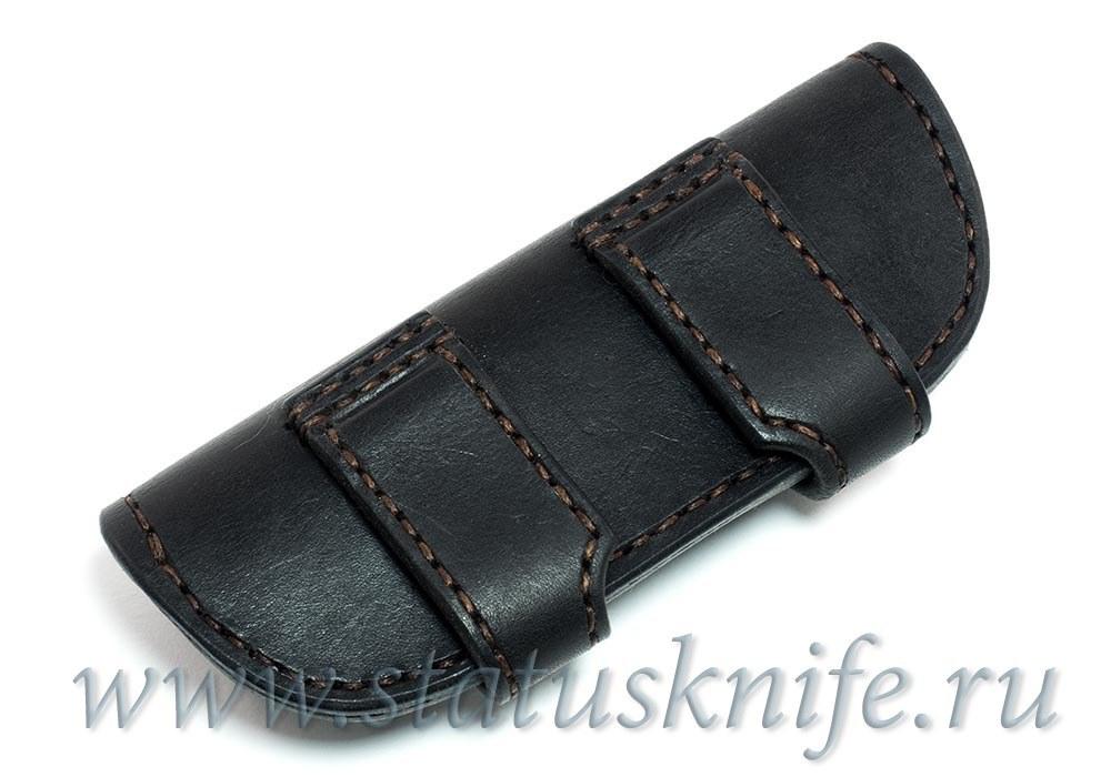 Чехол кожаный черный МБШ Флиппер 95, Хати, Ф3 - фотография