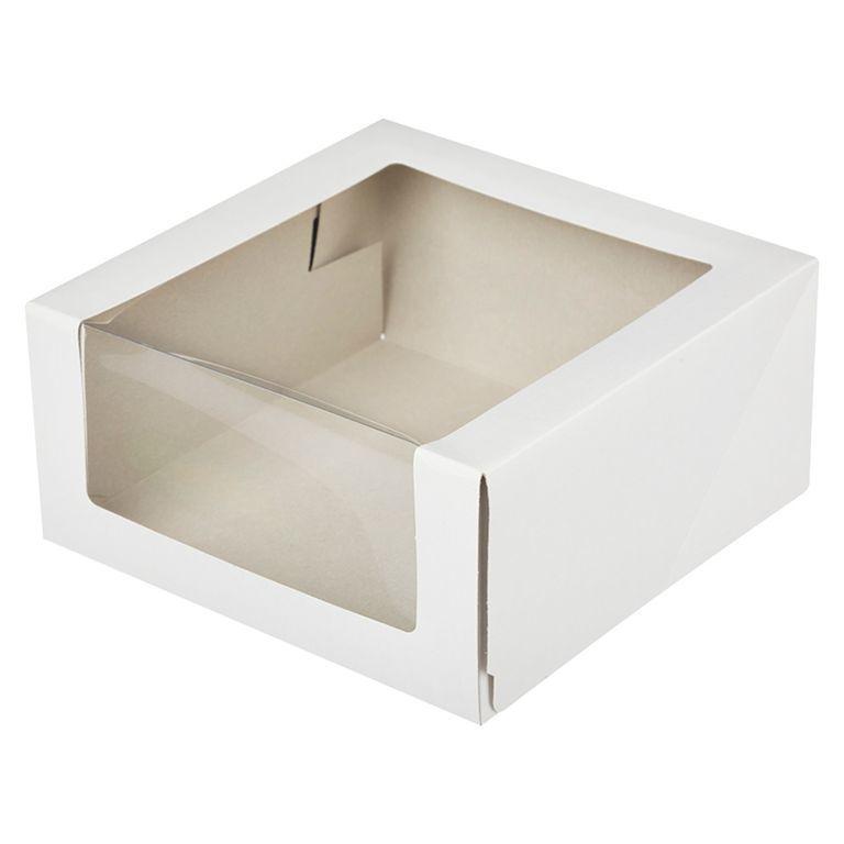 Коробка для тортов и пирожных, 225*225*105 мм