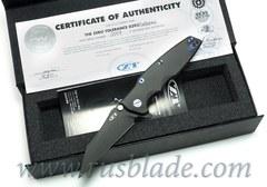 Zero Tolerance 0392PURBLKWC Factory Custom
