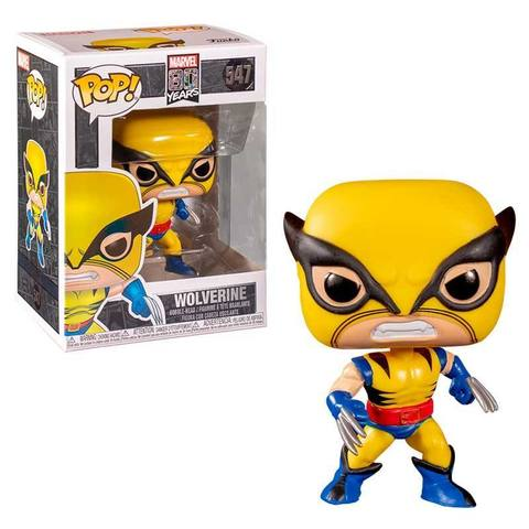 Marvel 80th The Original Wolverine Funko Pop! Vinyl Figure || Росомаха