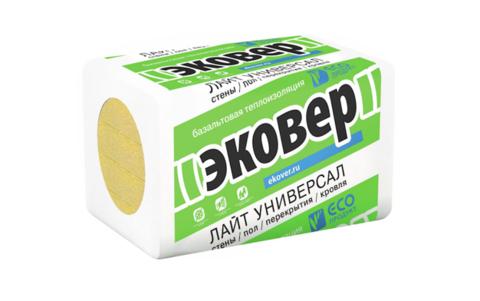 Эковер Лайт Универсал 28 кг/м3 1000х600х100 4 шт