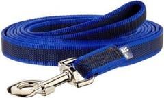 Поводок для собак JULIUS-K9 Color & Gray Super-grip с ручкой сине-серый