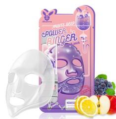 Маска для лица на тканевой основе с фруктовыми экстрактами Elizavecca