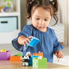 Игра для самых маленьких Кто спрятался на ферме Learning Resources