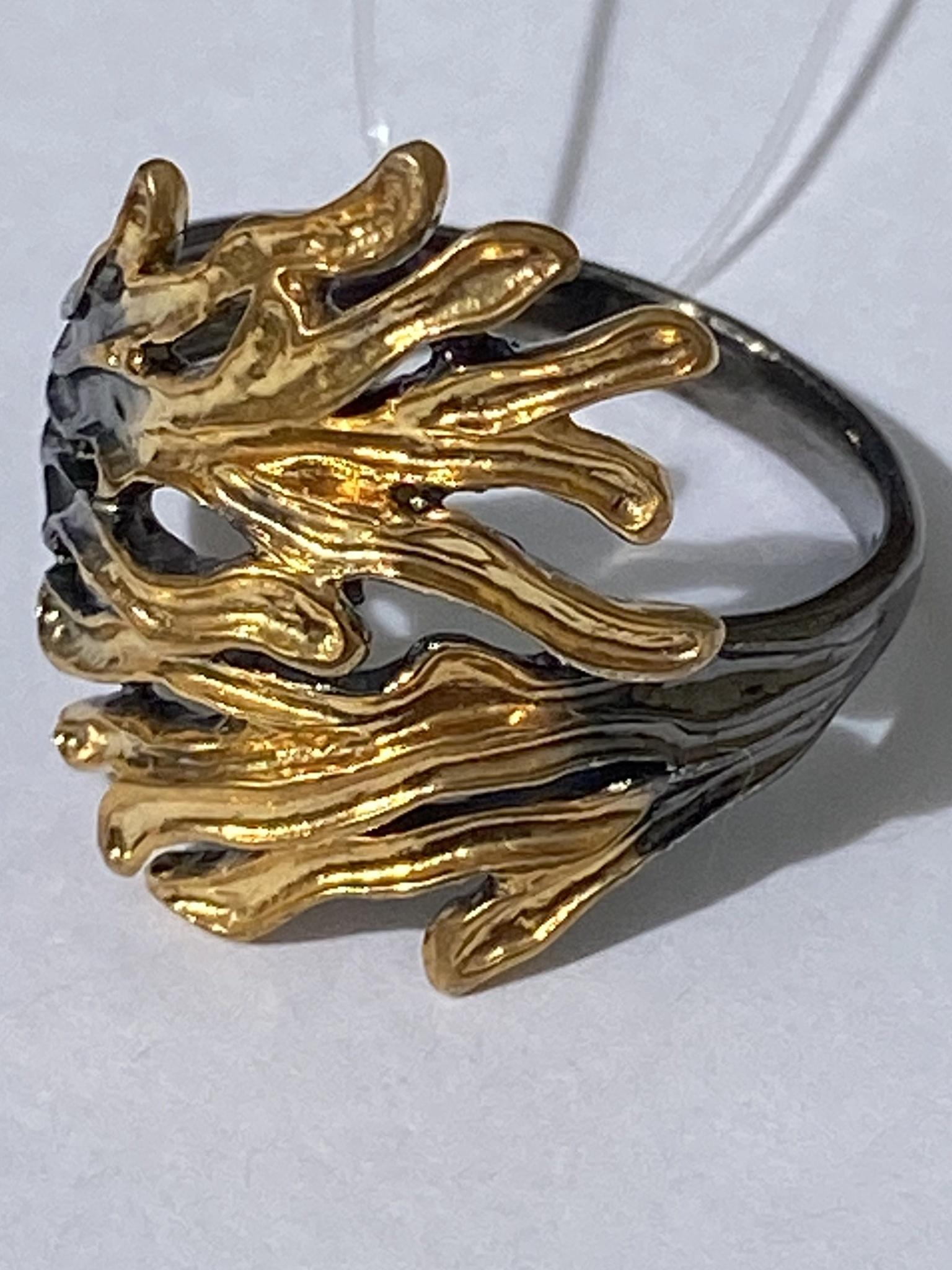 Риукин (кольцо  из серебра)