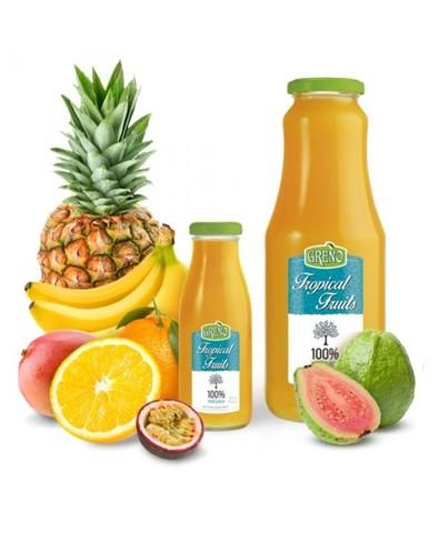 Сок 100% свежевыж. тропические фрукты 1 л