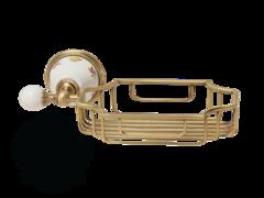 Решетка корзинка настенная Migliore Provance ML.PRO-60.525 керамика с декором