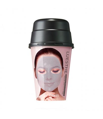 Маска для лица альгинатная Очищающая THE SEAM Luesthe Modeling Mask Charcoal 55гр