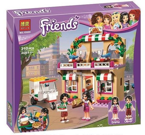 Конструктор Bela Friends Пиццерия 10609 (Аналог Lego Friends 41311) 310 дет